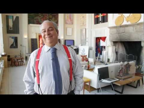 $20 Million Art Dealer's Penthouse in Manhattan