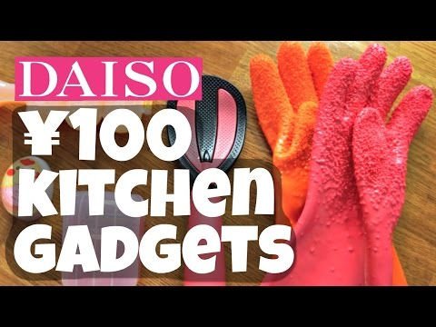 DAISO ¥100 Kitchen GADGET Test - Japanese Dollar Store - YouTube