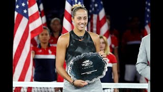 2017 US Open: Madison Keys Press Conference Final