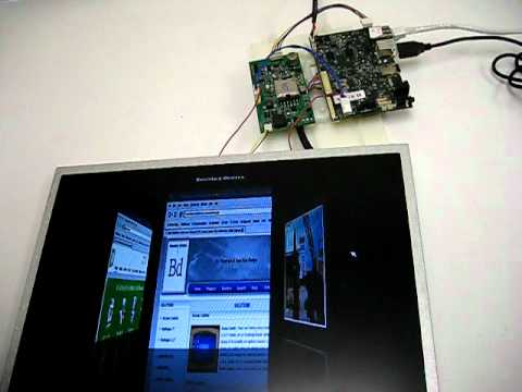 IMX53 Board running QT in Linux on a 15