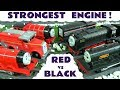 Thomas & Friends Strongest Engine fun Competition Red vs Black with the funny Funlings TT4U