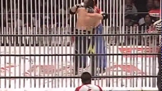 1080p BJW - Abdullah Kobayashi vs. Kankuro Hoshino (200 Lighttubes Rope & Floor Death Match) 2011 1