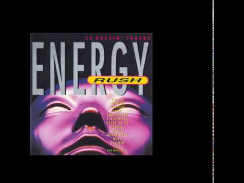 Various Artists - Energy Rush front cover