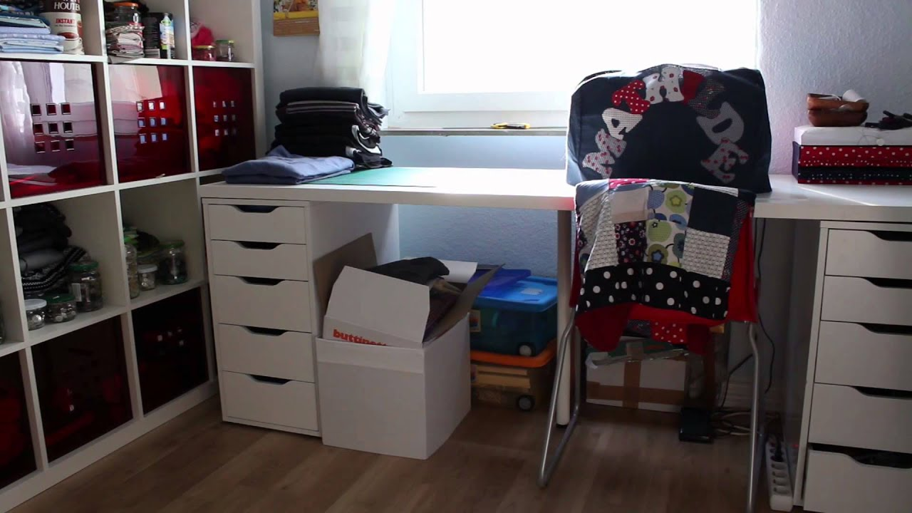 Lets Sew Neues Nähzimmer Youtube