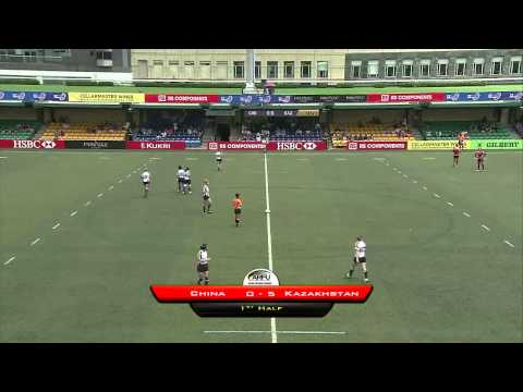 Hong Kong Asian Sevens - Match 34 - CHN v KAZ Women Cup Semi Final