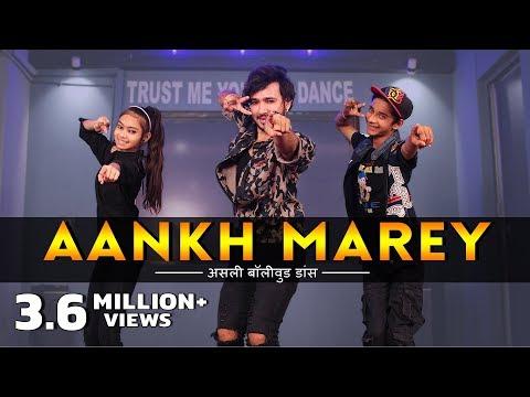 SIMMBA - Aankh Marey Dance Video |  Vicky Patel Choreography | Ranveer Singh, Sara Ali Khan Mp3