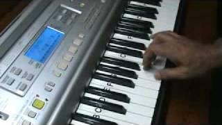 hansta hua noorani chehra - on keyboard by mmv