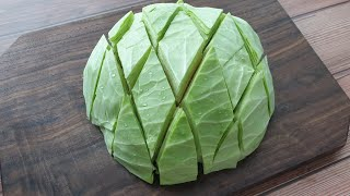 No more torn cabbage, a new way fast, convenient and unforgettable taste