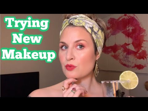 Trying New Makeup | Wednesday Happy Hour | Cate the Great Beauty