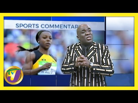 Veronica Campbell Brown   TVJ Sports Commentary