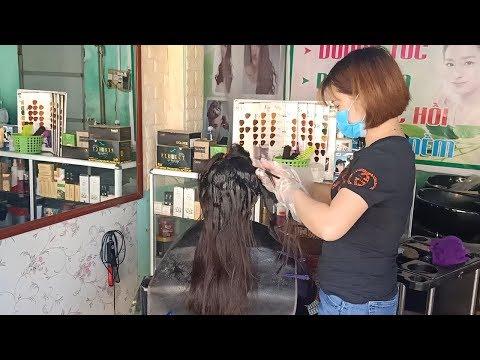 hướng dẫn cách Duỗi tóc thẳng