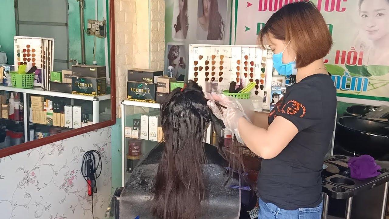 hướng dẫn cách Duỗi tóc thẳng   Tổng hợp kiến thức về tóc đẹp mới nhất