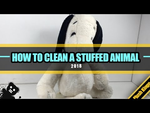 HOW TO CLEAN A STUFFED ANIMAL IN 2018