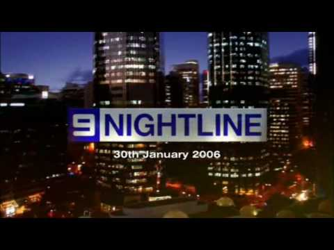 Nine News theme music: Nightline (Cool Hand Luke) (2006-2010)