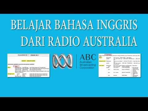 Gartis Belajar bahasa Inggris dari Radio Australia