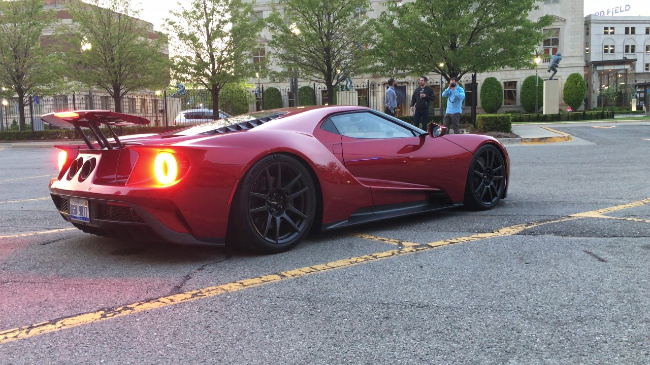 Ford Gt Race Mode Engaged