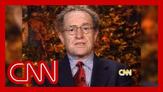 Dershowitz in 1998: Doesn