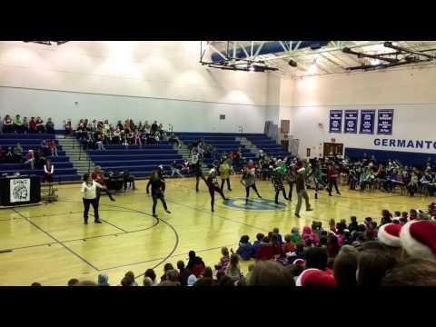 Germantown Hills Middle School Teachers Christmas Dance 2016