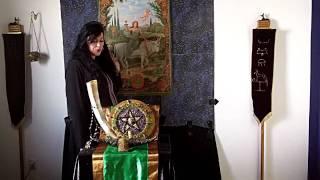 Ina Custers-van Bergen Lesser Banishing Ritual of the Pentagram2.MOV Thumbnail