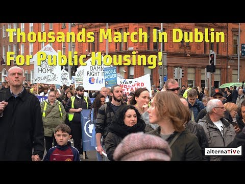 10,000 March In Dublin For Housing