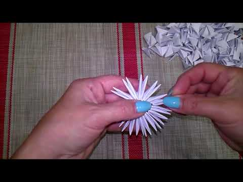 Маленький лебедь  Оригами