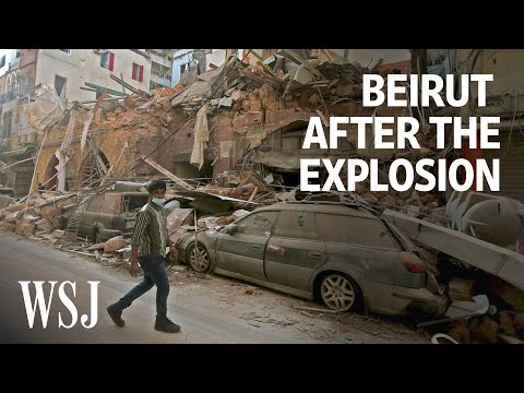 Inside Beirut After the Explosion | WSJ
