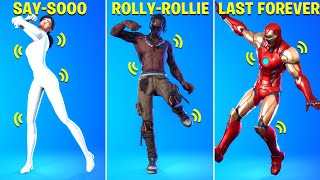 These Legendary Fortnite Dances Have Voices (Rollie/Rolex - Ayo & Teo, Say So, Scenario..)
