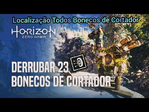 Horizon zero dawn   Derrubou 23 Bonecos de cortador (troféu) - YouTube c134d40ddd927