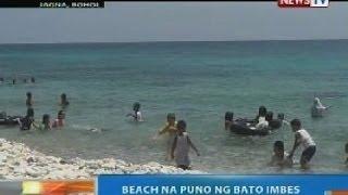 NTG: Beach sa Jagna, Bohol na puno ng bato imbes buhangin, dinarayo