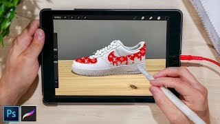 Create EPIC Sneaker Mockups in Photoshop/Procreate QUICKLY