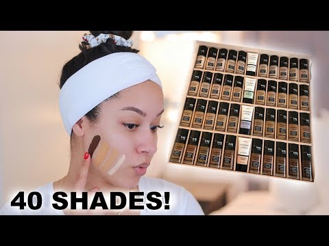 NEW Covergirl Tru Blend Matte Made Foundation First Impression + Wear Test | Marie Jay