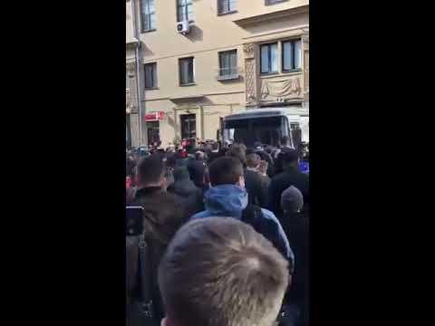 Как Навального забрали на митинге 26 марта в Москве!!! Смотри до конца!