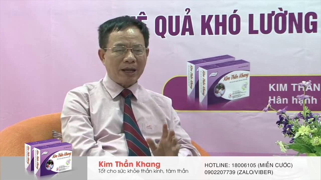 Bị đau đầu chóng mặt buồn nôn mệt mỏi là biểu hiện của bệnh lý gì? GS.TS. Nguyễn Văn Thông giải đáp