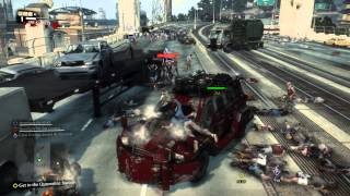 Dead Rising 3 - Monster Destruction Truck (PC Gameplay / Walkthrough - Co-Op) #2