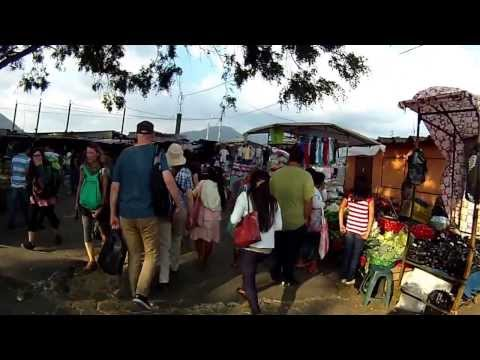 Market Walk in Antigua