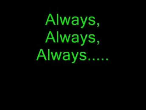 Always by Saliva Lyric Video