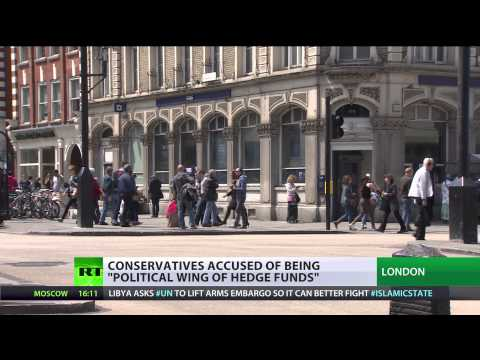 'Hedge fund lobbying': Tories wine & dine 45 tycoons in 12 weeks