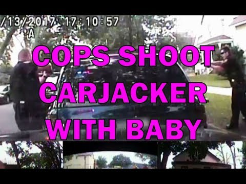 Carjacker Steals Car And Baby Before Being Fatally Shot On Video - LEO Round Table episode 347