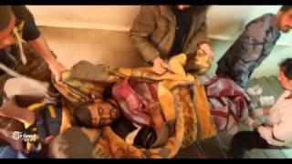 100 قتيل  بانفجار سيارة مفخخة في تجمع للخارجين من كفريا والفوعة