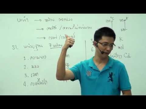 ฟิสิกส์ ม.4 บทนำ (ครั้งที่1)