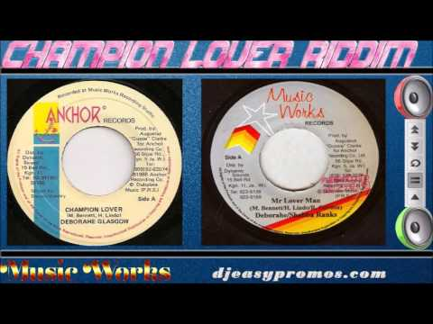 Champion Lover Riddim Mix 1990  (Music Works) Mix By Djeasy