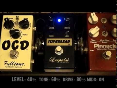 Lovepedal Superlead Demo Youtube