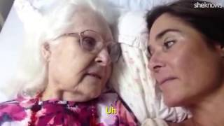 Alzheimers Mother recognizes Daughter