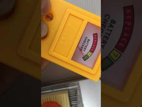手錶電池 電力 測量器 鈕扣電池 水銀電池 電量 檢測器