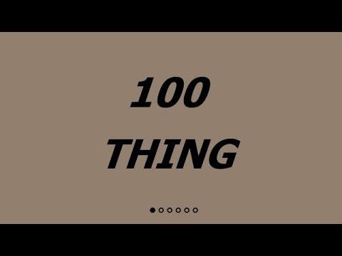 100 Thing. Изучение английского языка по фильмам с двойными субтитрами