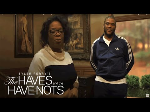 Tyler Perry Surprises Cast and Crew with   Tyler Perry's The Haves and the Have Nots   OWN