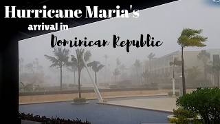 hurricane maria in dominican republic 2017