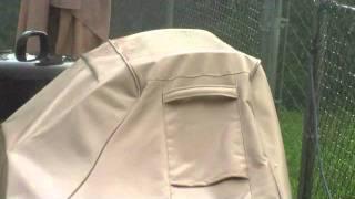 Classic® Veranda Cart BBQ Cover Gets Put To The Test
