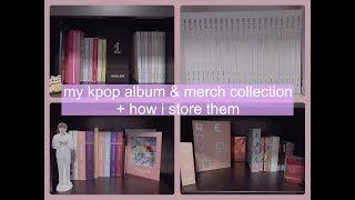 kpop album & merch collection + shelf tour   March 2018