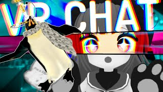 Jules the SoundBoard penguin and other VrChat Funny moments